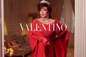 Fashion: Dame Joan Collins Takes Us To High Camp Heaven in New Valentino Ad